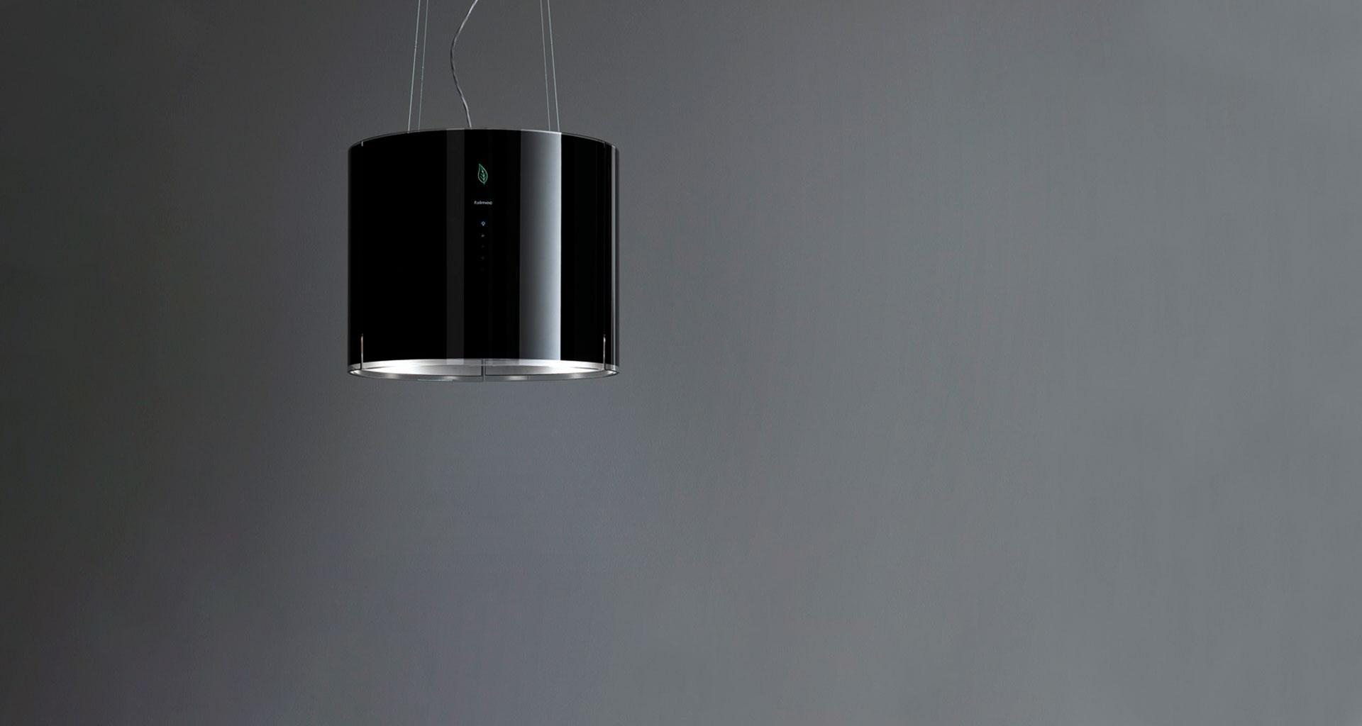 campana decorativa de cristal falmec