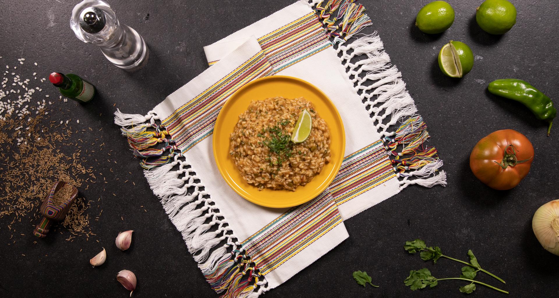 Receta arroz picante estilo mexicano